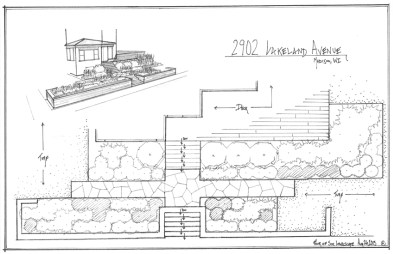 Madison Lakeview landscape design