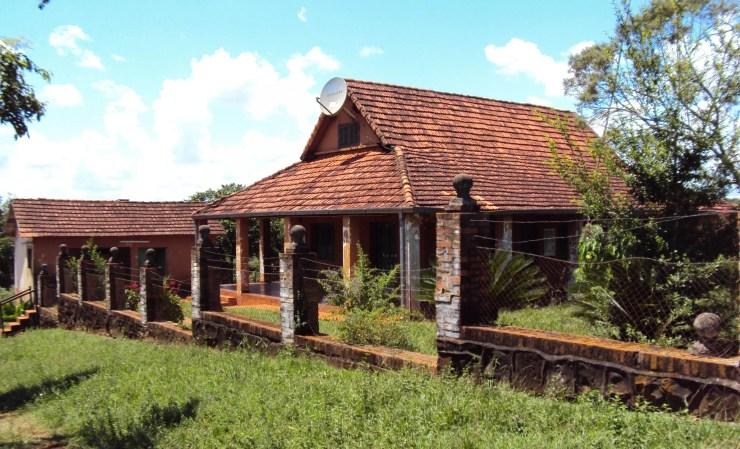 La casa donde vivió Josef Mengele