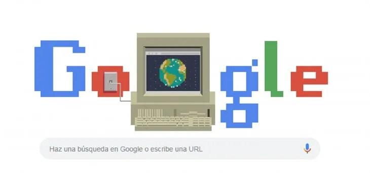 Un doodle siempre aparece en fechas importantes, y esta vez Google no lo olvidó.
