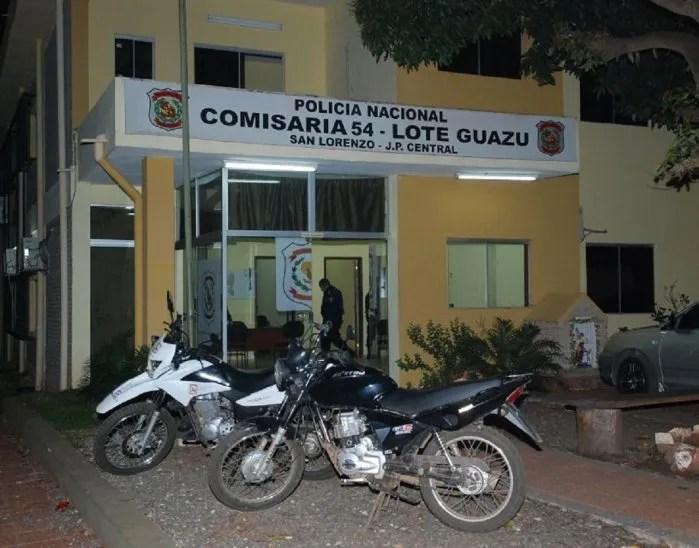 Vista de la Comisaría 54ªLote Guazú