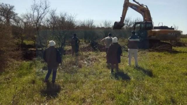 Este año reanudaron excavaciones en busca de la familia Gill