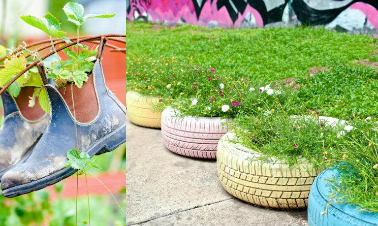 Idee Fai Da Te Per Il Giardino Come Arredarlo A Costo Zero