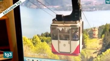 Funivia del Mottarone, il video della tragedia: la cabina sale, poi lo schianto