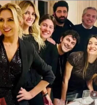 La polémica foto de Olivos en el cumpleaños de Fabiola Yáñez que enfureció a los ministro de Casa Rosada.