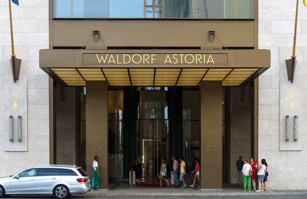 L'hôtel Waldorf-Astoria ©Sergey Kohl / Shutterstock.com
