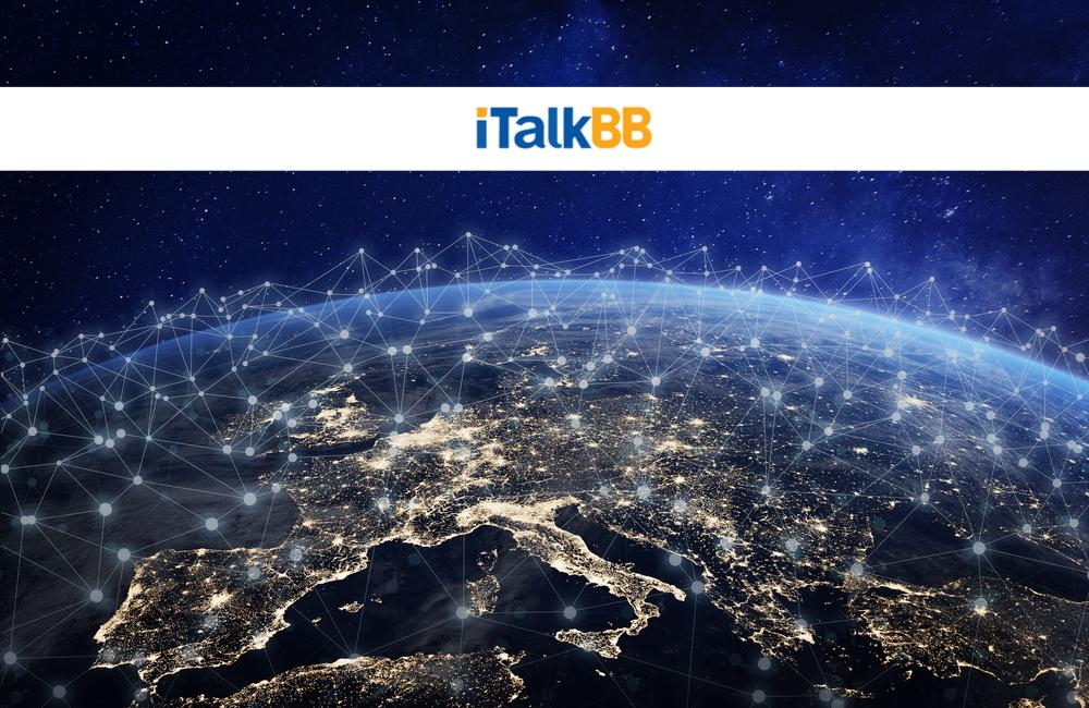 iTalk Global Communications Inc @iTalkBB_Media / Twitter.com |  @NicoElNino / Shutterstock.com