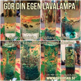 Gör din egen lavalampa