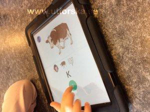 Skriftspråk med appen skrivis
