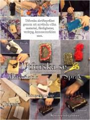 utforska och snickra skriftspråk