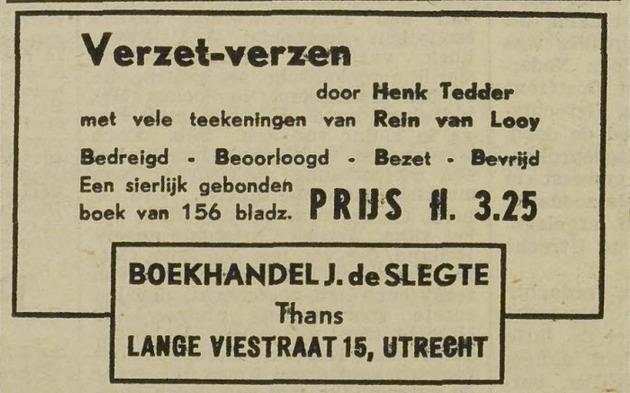 De Slegte 1946