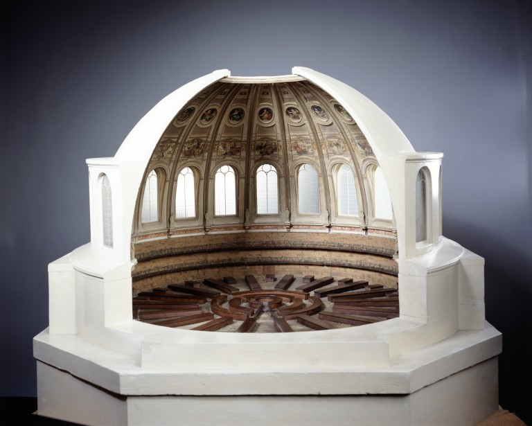 Architectural Model For The Proposed Reading Room Of The