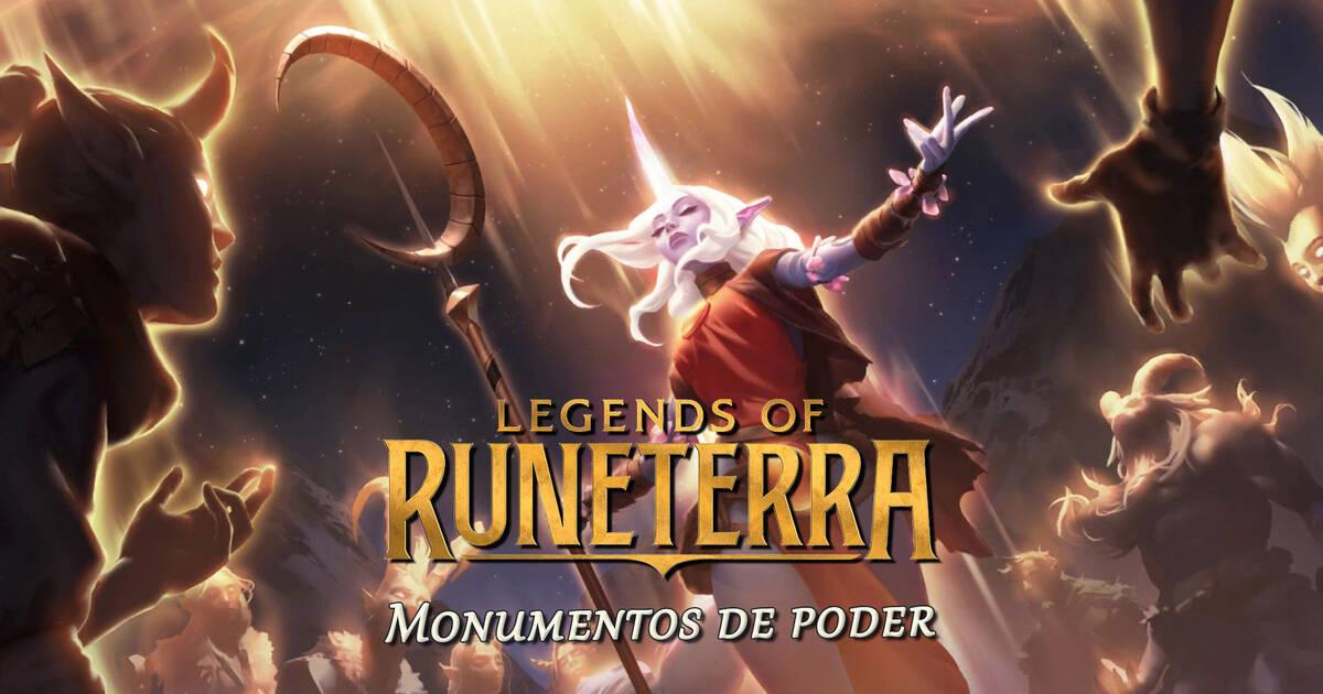 Legends of Runeterra Debuts Monuments of Power Expansion;  All the details