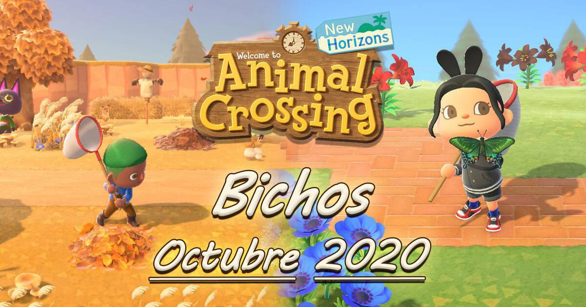 Animal Crossing New Horizons: all the Bugs that come and go in October 2020