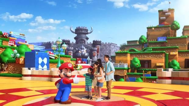 Imagen promocional de Super Nintendo World.