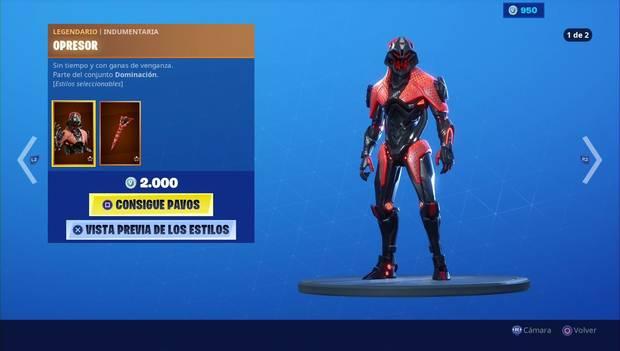 Fortnite - Skins: Opresor
