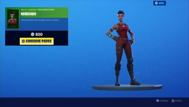 Fortnite - Skins: Renegado