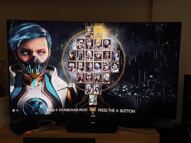 Se filtran imágenes de Frost, la última luchadora de Mortal Kombat 11 Imagen 2