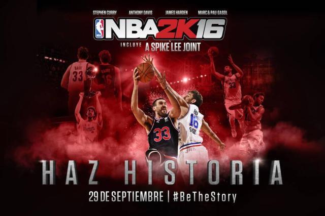 NBA 2K6 con Pau y Marc Gasol