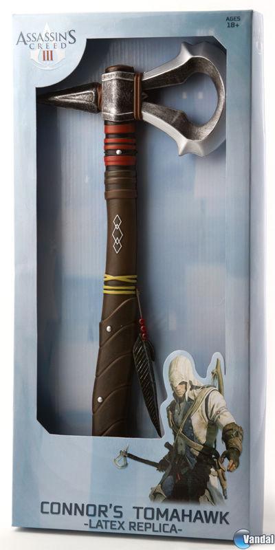 Comercializan el hacha tomahawk de Assassin's Creed III