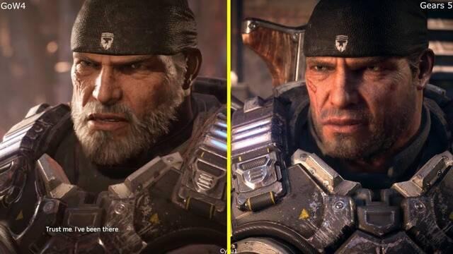 Comparativa Grfica Gears Of War 4 VS Gears 5 En El E3