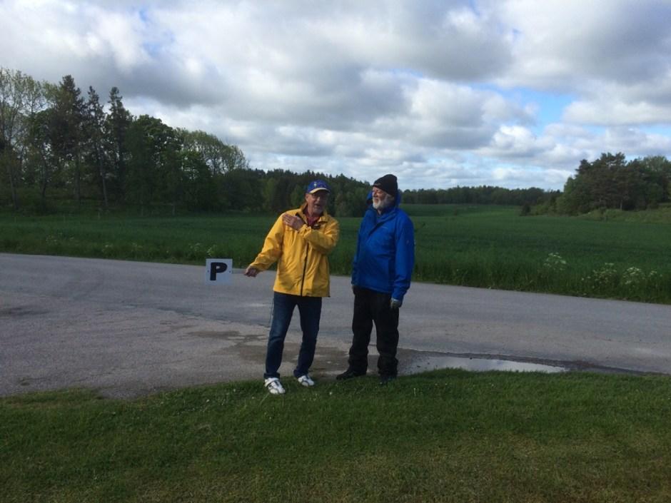 Parkeringsvakten Bengt  och Calle