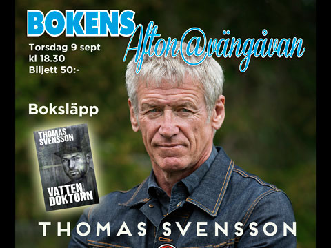 Bokens Afton med Thomas Svensson