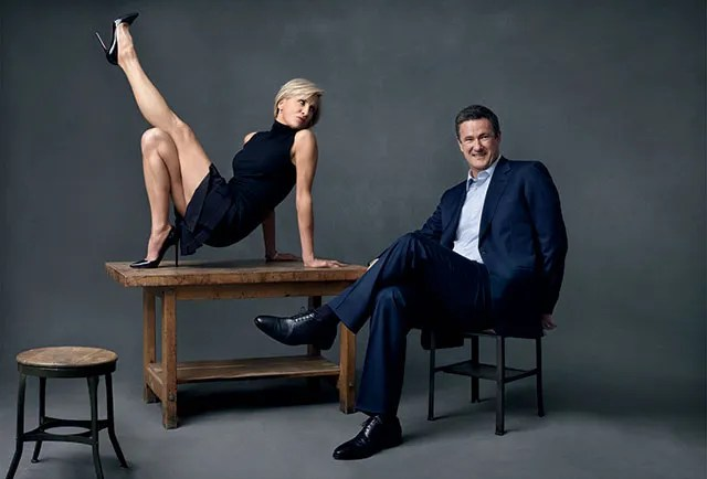 Image result for images of morning joe and mika