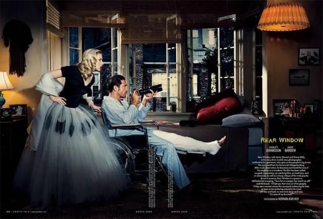 Tbt Scarlett Johansson And Javier Bardem As Grace Kelly And Jimmy Ste