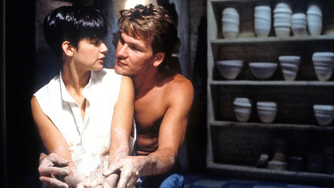 Image result for ghost patrick swayze demi moore