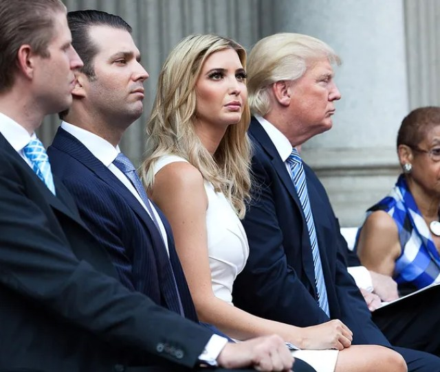 Ivanka Trumps Friends Dont Hold Her Dad Against Her