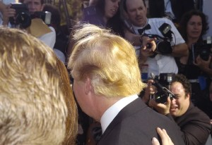 Trump at the 2004 Emmys. At this point, we're just fucking with your stomach. Had lunch yet?