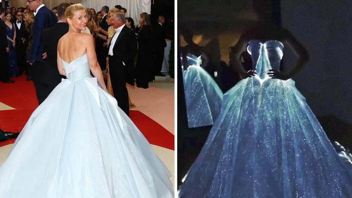 Met Gala 2016: Claire Danes's Glow-in-the-Dark Gown