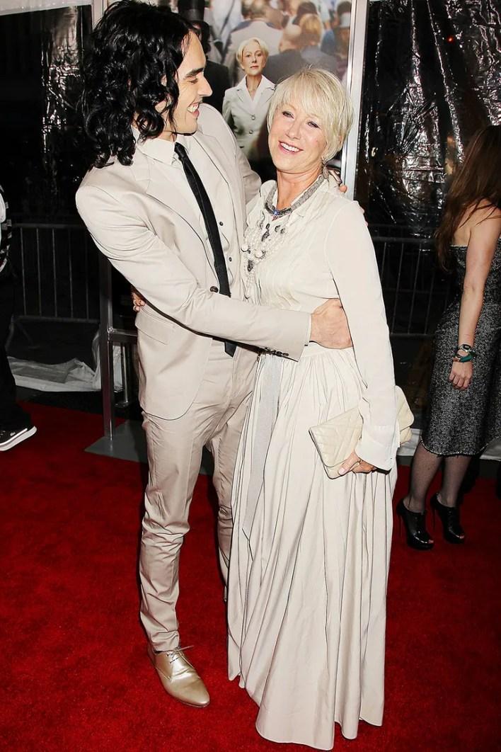 __Helen Mirren and Russell Brand__
