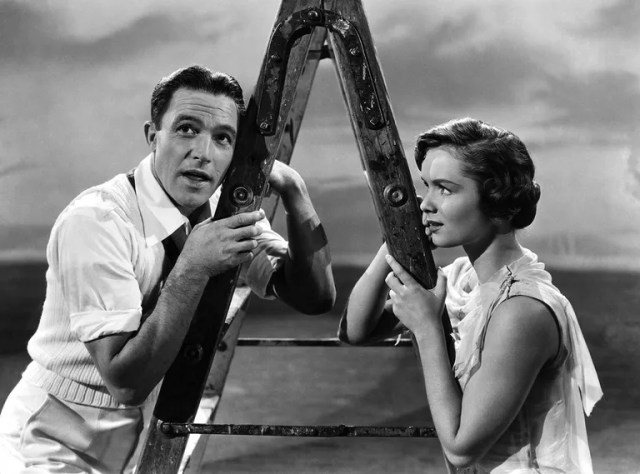Reynolds in her most famous role, opposite Gene Kelly in *Singin in the Rain*.