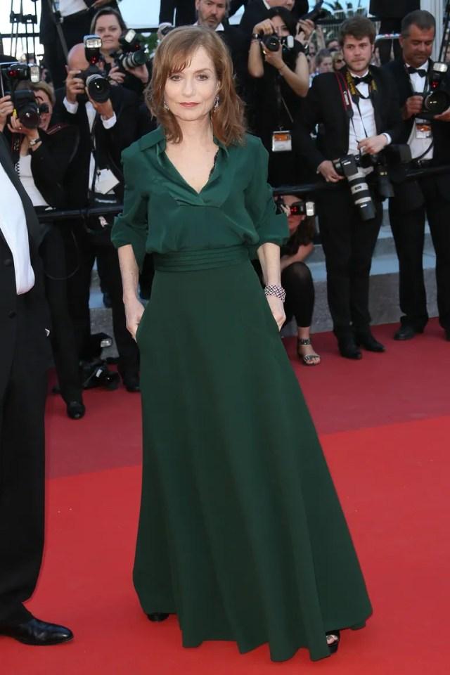 At the <em>Elle</em> premiere during the Cannes Film Festival (May 21, 2016)