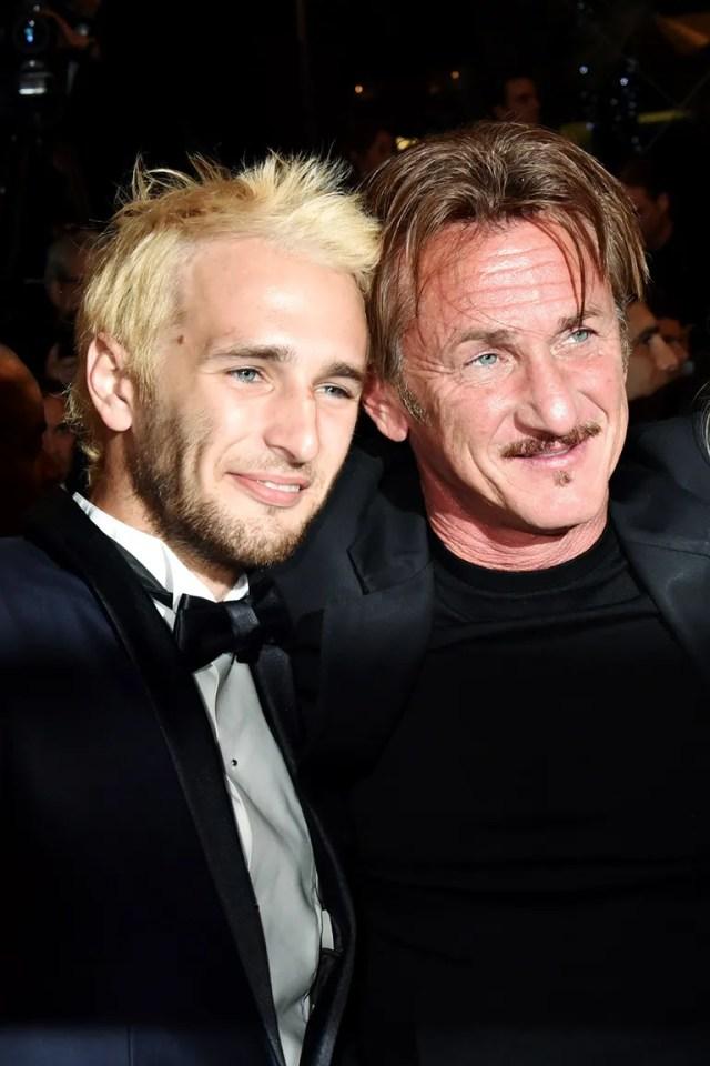 Hopper and Sean Penn
