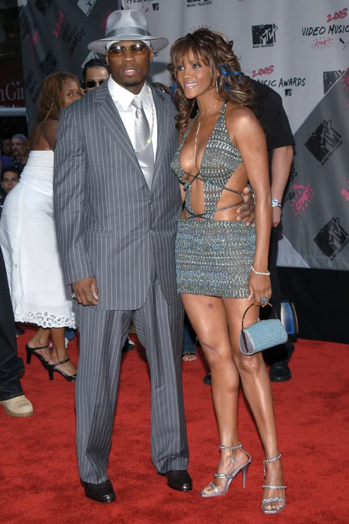 <strong>50 Cent and Vivica A. Fox</strong>