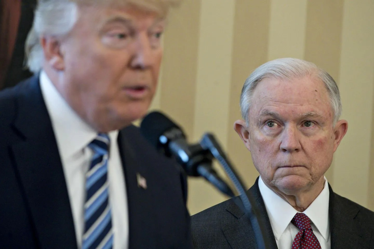 Image result for trump vs sessions