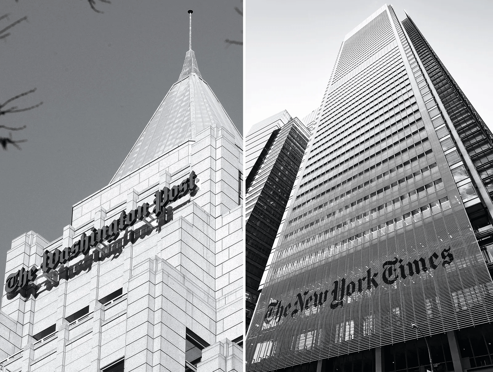 Is The New York Times Vs The Washington Post Vs Trump