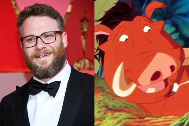 Seth Rogen, Pumbaa