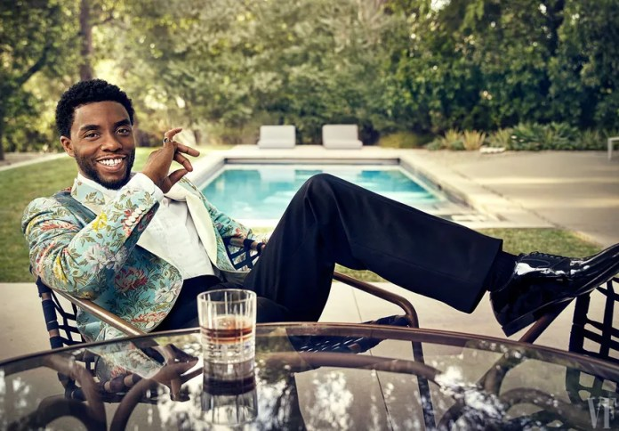 Image result for Chadwick Boseman, photographed in Studio City, California
