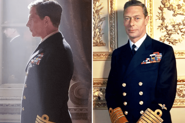 Ben Mendelsohn/King George VI—<em>Darkest Hour</em>