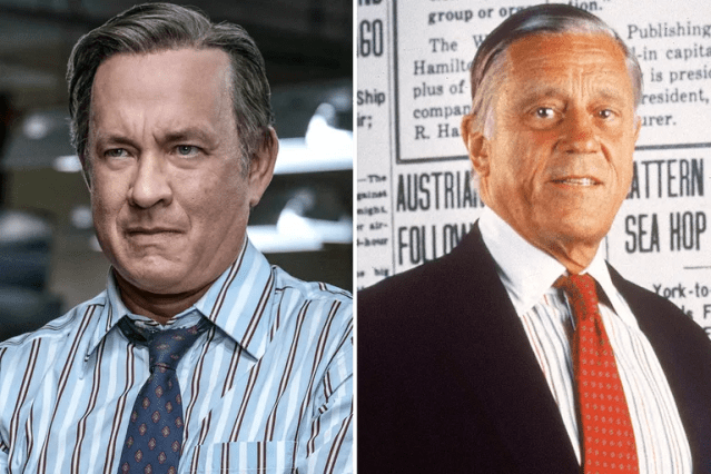 Tom Hanks/Ben Bradlee—<em>The Post</em>