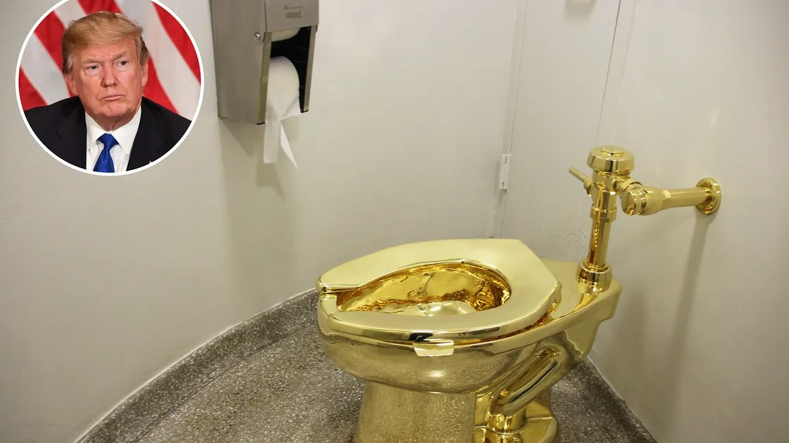The Art Museum That Offered Donald Trump A Solid Gold Toilet Vanity Fair