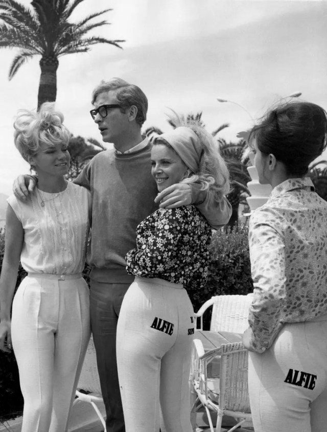 Michael Caine at Cannes, 1966
