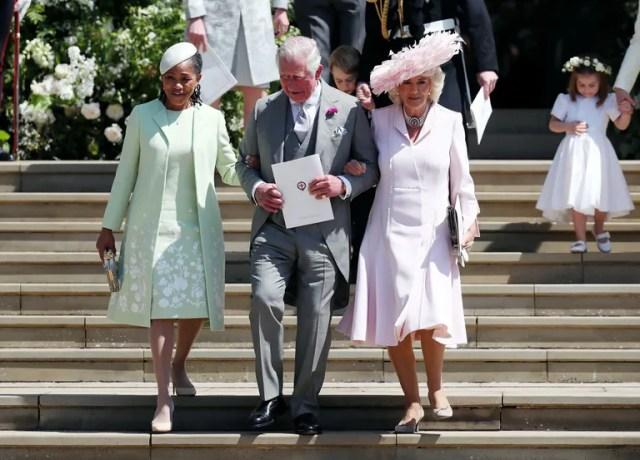 Doria Ragland, Prince Charles and Camilla