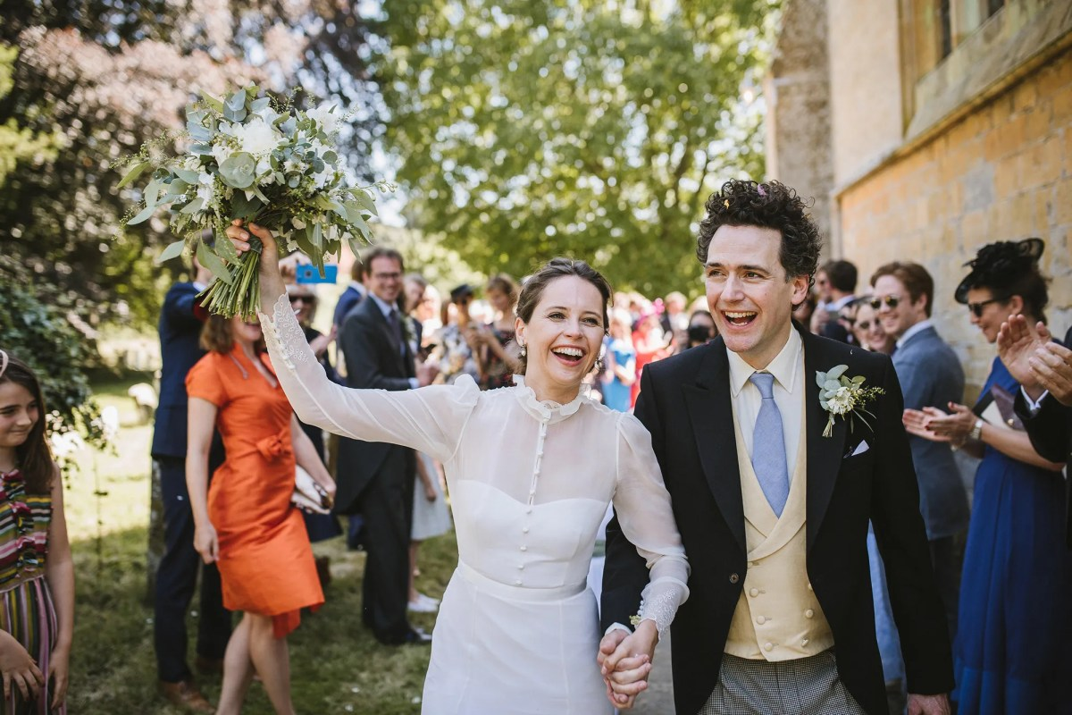 Exclusive Images from Felicity Jones's Private Castle Wedding | Vanity Fair