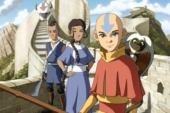 """<ol start=""""20""""> <li><em>Avatar: The Last Airbender</em> (2005-2008)</li> </ol>"""