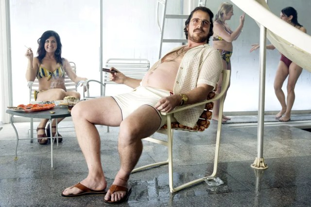 Christian Bale stars in *American Hustle*.
