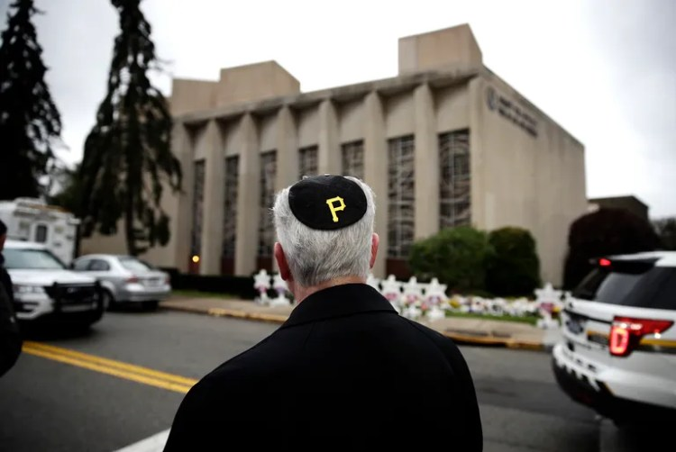 Tree of Life Synagogue Reflection